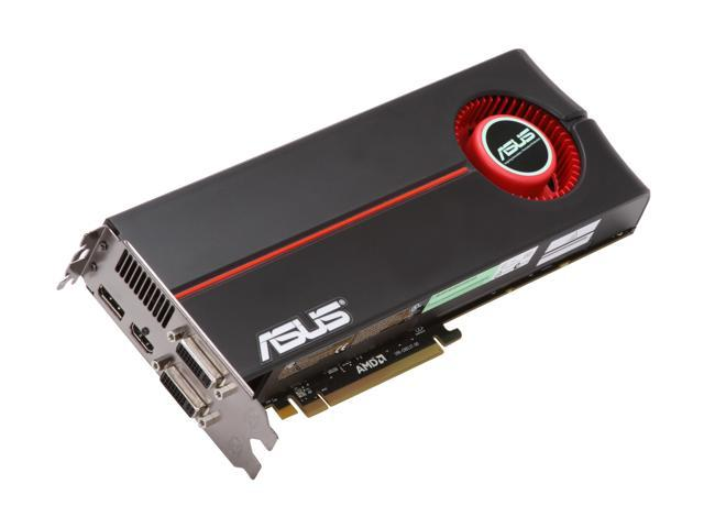 ASUS EAH5870/2DIS/1GD5/A Radeon HD 5870 (Cypress XT) 1GB 256-bit GDDR5 PCI Express 2.0 x16 HDCP Ready CrossFire Supported Video Card w/ATI Eyefinity