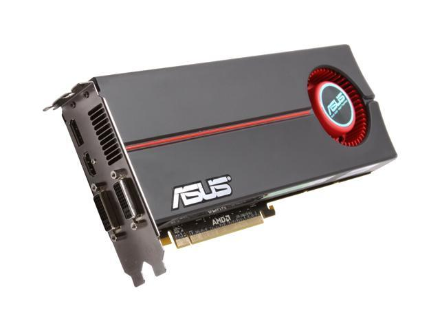 ASUS EAH5870/G/2DIS/1GD5/A Radeon HD 5870 (Cypress XT) 1GB 256-bit GDDR5 PCI Express 2.0 x16 HDCP Ready CrossFire Supported Video Card w/ATI Eyefinity