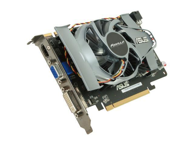 ASUS Radeon HD 5750 DirectX 11 EAH5750 FORMULA/2DI/1GD5/A 1GB 128-Bit GDDR5 PCI Express 2.1 x16 HDCP Ready CrossFireX Support Video Card