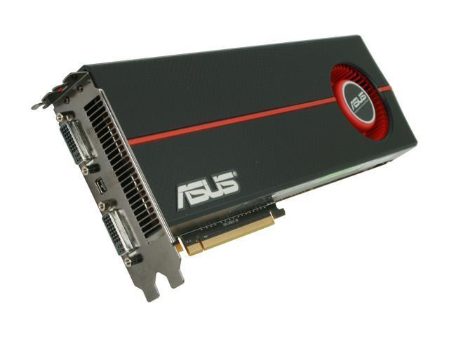 ASUS Radeon HD 5970 DirectX 11 EAH5970/2DIS/2GD5 Dual GPU Onboard CrossFire Video Card w/ Eyefinity