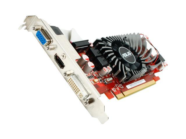 ASUS Radeon HD 5570 DirectX 11 EAH5570/DI/1GD3(LP) Video Card