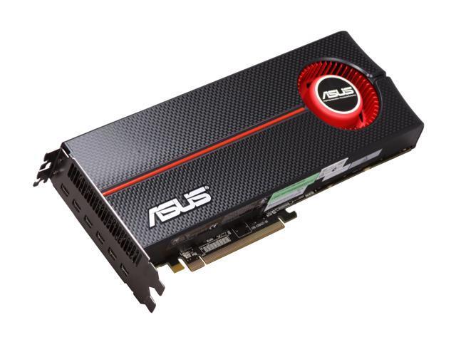 ASUS Radeon HD 5870 (Cypress XT) DirectX 11 5870 EYEFINITY 6/6S/2GD5 2GB 256-Bit GDDR5 PCI Express 2.1 x16 HDCP Ready CrossFireX Support Eyefinity 6 Edition Video Card