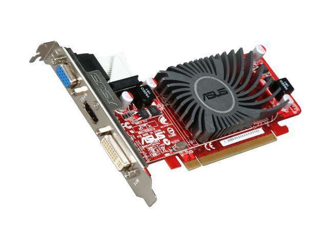 ASUS Radeon HD 5450 DirectX 11 EAH5450 SILENT/DI/512MD2(LP) Video Card