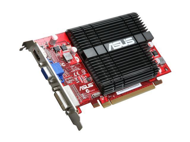 ASUS Radeon HD 5450 DirectX 11 EAH5450 SILENT/DI/1GD2 1GB 64-Bit DDR2 PCI Express 2.1 x16 HDCP Ready Video Card