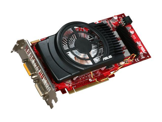 ASUS CuCore Series Radeon HD 4850 DirectX 10.1 EAH4850 CUCORE TOP/2DI/1GD3 1GB 256-Bit DDR3 PCI Express 2.0 x16 HDCP Ready CrossFireX Support Video Card