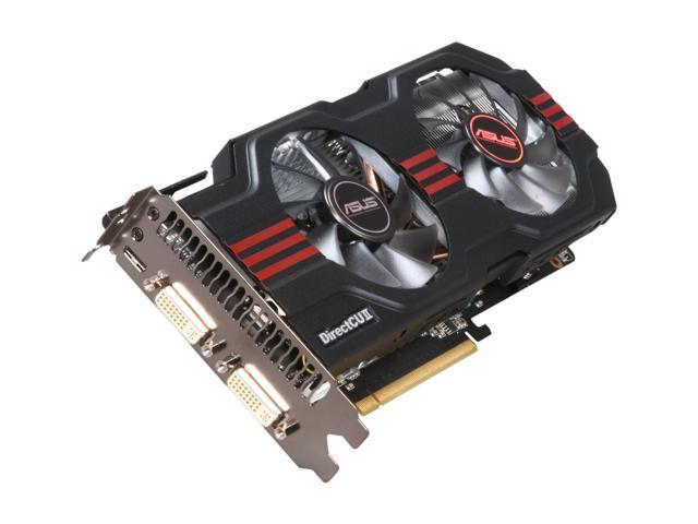 ASUS GeForce GTX 560 Ti (Fermi) DirectX 11 ENGTX560 TI DCII/2DI/1GD5 1GB 256-Bit GDDR5 PCI Express 2.0 x16 HDCP Ready SLI Support Video Card
