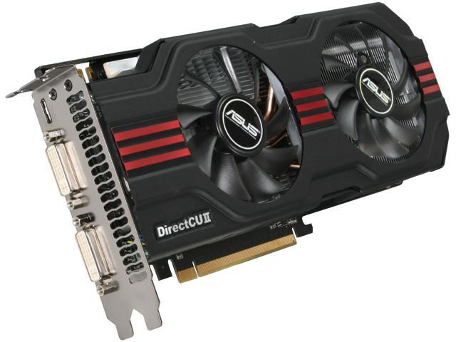 ASUS GeForce GTX 560 Ti (Fermi) DirectX 11 ENGTX560 TI DCII TOP/2DI/1GD5 Video Card