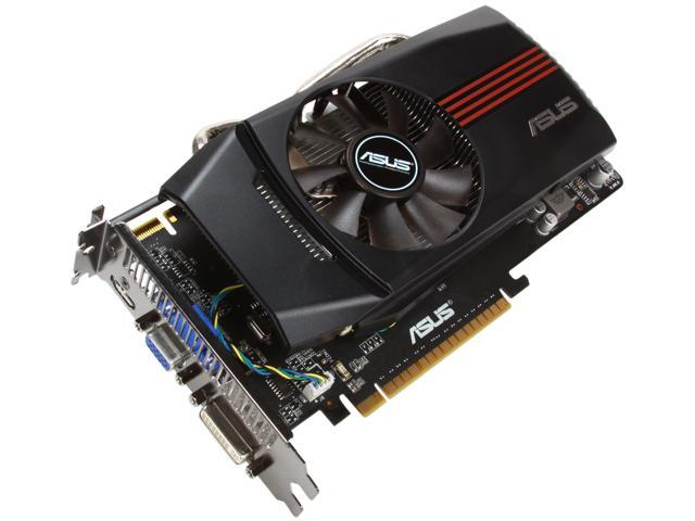 ASUS GeForce GTX 550 Ti (Fermi) DirectX 11 ENGTX550 TI DC TOP/DI/1GD5 1GB 192-Bit GDDR5 PCI Express 2.0 x16 HDCP Ready SLI Support Video Card