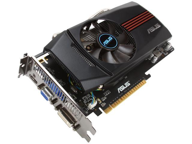 ASUS GeForce GTX 550 Ti (Fermi) DirectX 11 ENGTX550 TI DC/DI/1GD5 1GB 192-Bit GDDR5 PCI Express 2.0 x16 HDCP Ready SLI Support Video Card