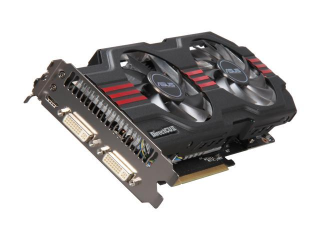 ASUS GeForce GTX 560 (Fermi) DirectX 11 ENGTX560 DCII OC/2DI/1GD5 1GB 256-Bit GDDR5 PCI Express 2.0 x16 HDCP Ready SLI Support Video Card