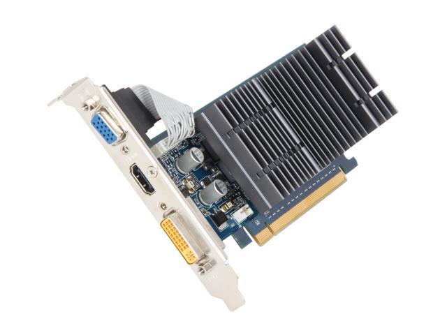 ASUS GeForce 8400 GS DirectX 10 EN8400GS-512-CO-4R Video Card