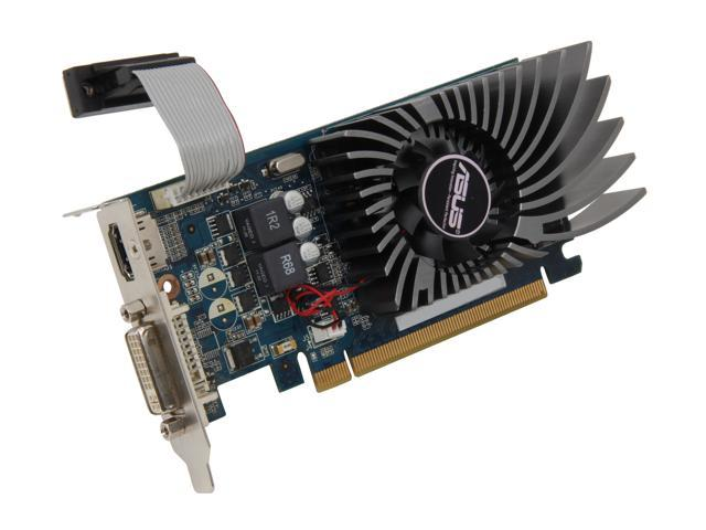 ASUS GeForce GT 430 (Fermi) DirectX 11 ENGT430/DI/1GD3(LP) 1GB 128-Bit DDR3 PCI Express 2.0 x16 HDCP Ready Low Profile Ready Video Card