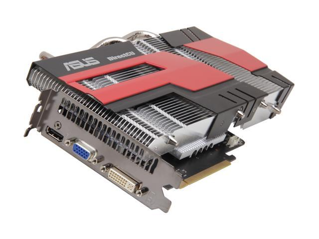 ASUS Radeon HD 6770 DirectX 11 EAH6770 DC SL/2DI/1GD5 1GB 128-Bit GDDR5 PCI Express 2.1 x16 HDCP Ready Video Card