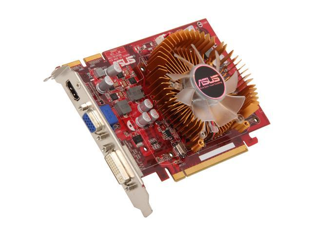 ASUS Radeon HD 4670 DirectX 10.1 EAH4670/DI/512M/A 512MB 128-Bit GDDR3 PCI Express 2.0 x16 HDCP Ready CrossFireX Support Video Card
