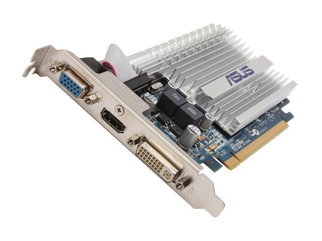 ASUS GeForce 8400 GS DirectX 10 8400GS-512MD3-SL Video Card