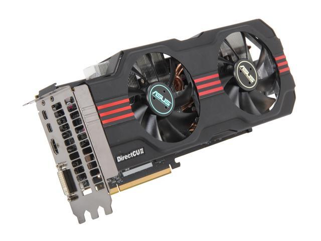 ASUS HD 7000 Radeon HD 7950 DirectX 11 HD7950-DC2T-3GD5 3GB 384-Bit GDDR5 PCI Express 3.0 x16 HDCP Ready CrossFireX Support Plug-in Card Video Card