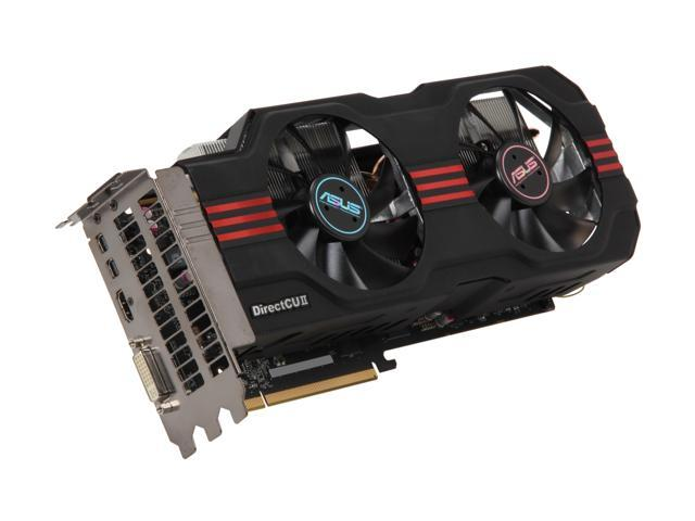 ASUS HD 7000 Radeon HD 7950 DirectX 11 HD7950-DC2-3GD5 3GB 384-Bit GDDR5 PCI Express 3.0 x16 HDCP Ready CrossFireX Support Plug-in Card Video Card