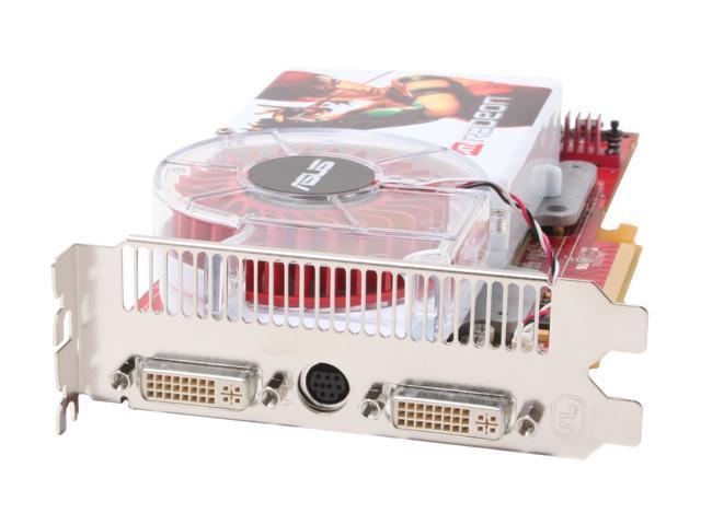 ASUS Radeon X1800XT DirectX 9 EAX1800XT/2DHTV/512M 512MB 256-Bit GDDR3 PCI Express x16 Video Card