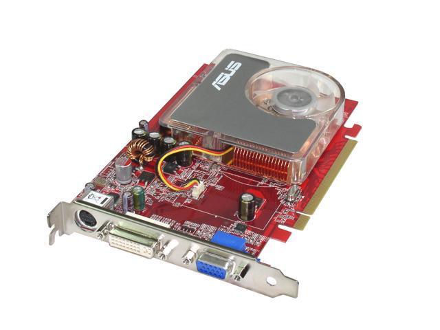 ASUS Radeon X1300PRO DirectX 9 EAX1300PRO/TD/256M 256MB 128-Bit GDDR2 PCI Express x16 Video Card