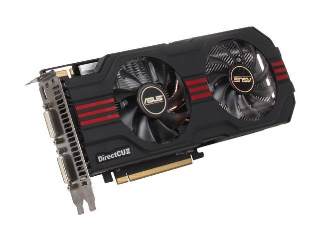 ASUS GeForce GTX 560 Ti (Fermi) DirectX 11 ENGTX560 TI DCII TOP/2DI/1GD5 1GB 256-Bit GDDR5 PCI Express 2.0 x16 HDCP Ready SLI Support Video Card