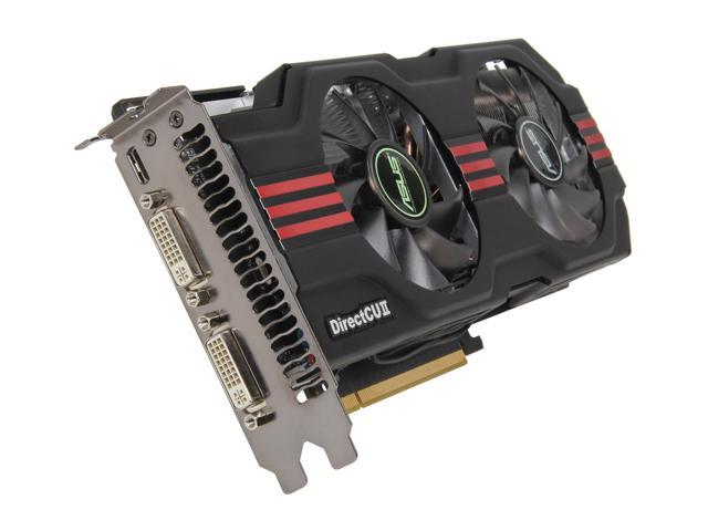 ASUS GeForce GTX 560 Ti (Fermi) DirectX 11 ENGTX560 TI DC2 TOP/2DI/2GD5 Video Card