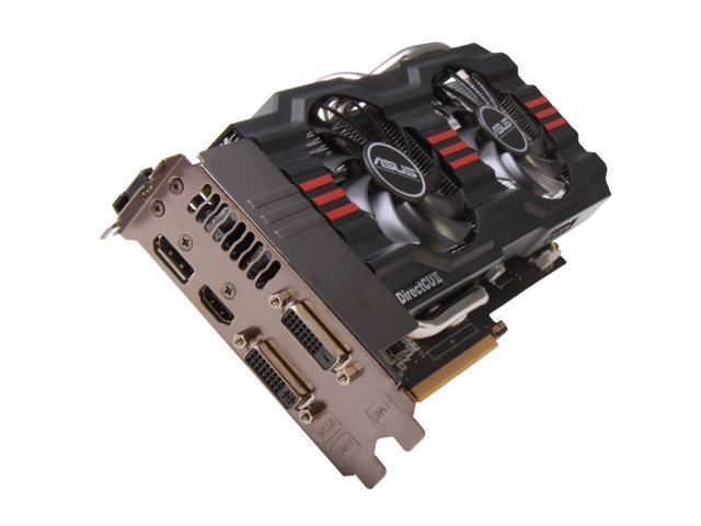 ASUS GeForce GTX 660 Ti DirectX 11 GTX660 TI-DC2-2GD5 Video Card