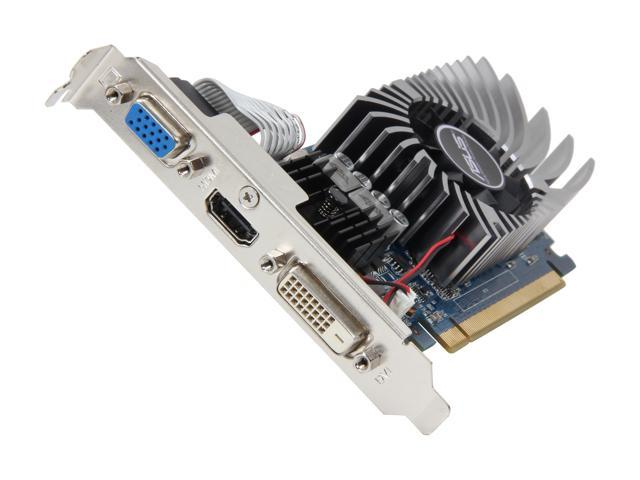ASUS GeForce GT 640 DirectX 11 GT640-1GD3-L 1GB DDR3 PCI Express 3.0 x16 HDCP Ready Video Card