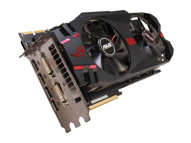 ASUS HD 7000 Radeon HD 7970 GHz Edition DirectX 11 MATRIX-HD7970-P-3GD5 3GB 384-Bit GDDR5 PCI Express 3.0 x16 HDCP Ready CrossFireX Support Plug-in Card Video Card