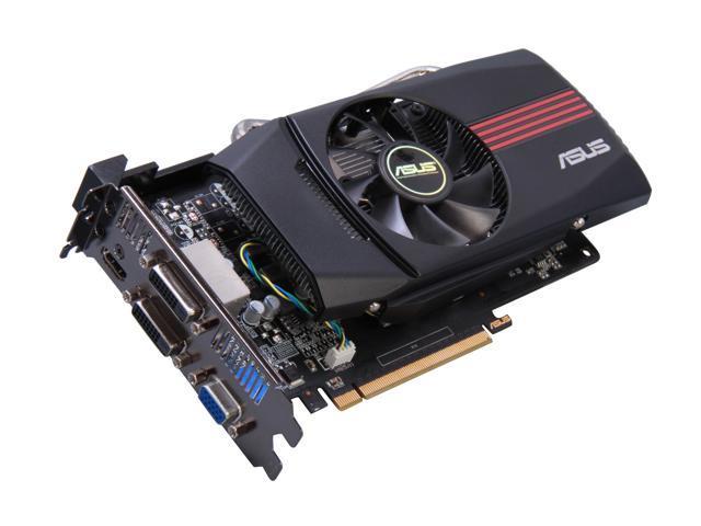 ASUS GeForce GTX 650 DirectX 11 GTX650-DCT-1GD5 Video Card