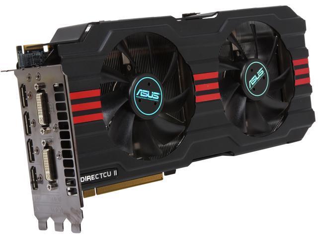 ASUS Radeon HD 7970 DirectX 11 HD7970-DC2T-3GD5 3GB 384-Bit GDDR5 PCI Express 3.0 x16 HDCP Ready CrossFireX Support Video Card