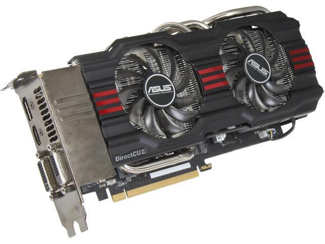 ASUS GeForce GTX 670 DirectX 11 GTX670-DC2T-2GD5 2GB 256-Bit GDDR5 PCI Express 3.0 x16 HDCP Ready SLI Support Video Card