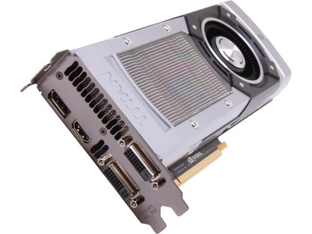 ASUS GeForce GTX TITAN GTXTITAN-6GD5 6GB 384-Bit GDDR5 PCI Express 3.0 HDCP Ready SLI Support Video Card