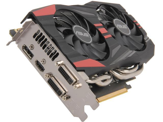 ASUS GTX760-DC2OC-2GD5 G-SYNC Support GeForce GTX 760 2GB 256-Bit GDDR5 PCI Express 3.0 x16 HDCP Ready SLI Support Video Card