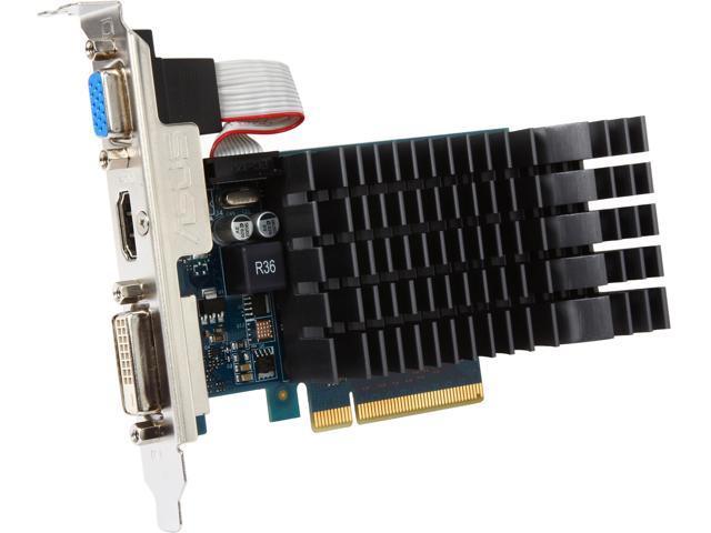 ASUS GT 600 GeForce GT 630 DirectX 11 GT630-SL-2GD3-L 2GB 64-Bit GDDR3 PCI Express 2.0 Low Profile Ready Video Card