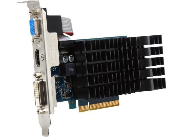 GT630-SL-2GD3-L GeForce GT 630 2GB 64-Bit GDDR3 PCI Express 2.0 Low Profile Ready Video Card Manufactured Recertified