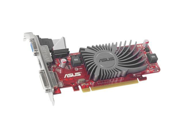 ASUS Radeon HD 5450 DirectX 11 EAH5450 SL/512MD3/MG 512MB 32-Bit DDR3 PCI Express 2.1 Plug-in Card Graphic Card 650 MHz Core
