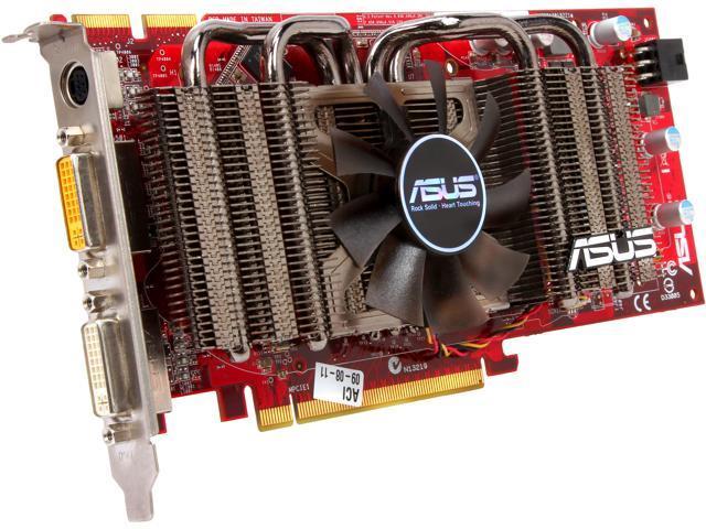 ASUS Radeon HD 4850 EAH4850 TOP/HTDP/512M/A Video Card