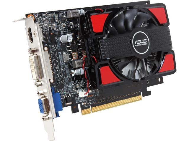 ASUS GeForce GT 740 DirectX 11.1 GT740-2GD3-CSM 2GB 128-Bit DDR3 PCI Express 3.0 HDCP Ready Video Card