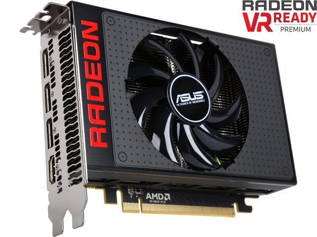 ASUS Radeon R9 Nano R9NANO-4G 4GB 4096-Bit HBM PCI Express 3.0 HDCP Ready CrossFireX Support Video Card