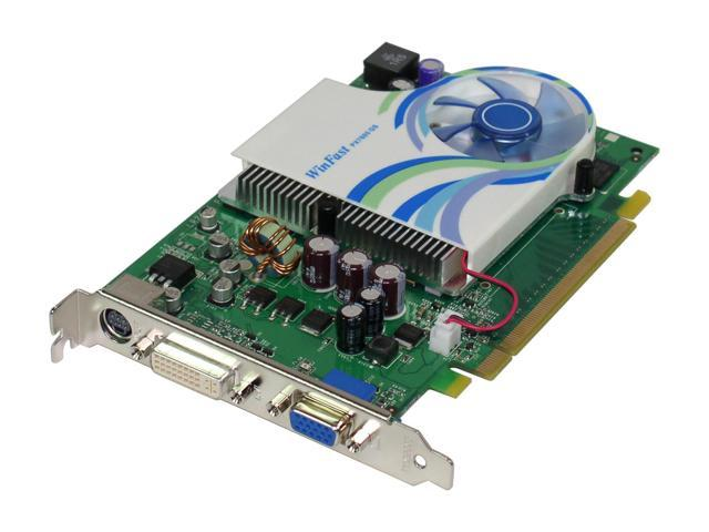 Leadtek PX7600GS TDH GeForce 7600GS 256MB 128-bit GDDR2 PCI Express x16 SLI Supported Video Card