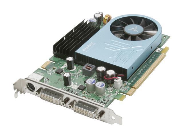 Leadtek GeForce 8600 GT DirectX 10 PX8600GT TDH GDDR2 Video Card