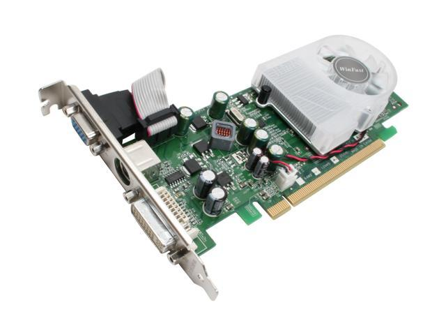Leadtek GeForce 8400 GS DirectX 10 WinFast PX8400GS TDH Extreme 512MB (256MB on board) 64-Bit GDDR2 PCI Express x16 HDCP Ready Video Card
