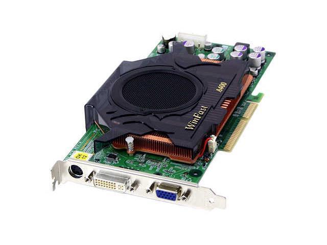 Leadtek GeForce 6800 DirectX 9 A400 TDH 128MB 256-Bit DDR AGP 4X/8X Video Card