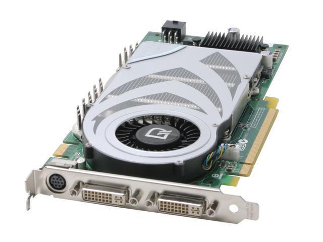 Leadtek GeForce 7800GTX DirectX 9 WinFast PX7800GTX TDH MyVIVO 256MB 256-Bit GDDR3 PCI Express x16 SLI Support Video Card