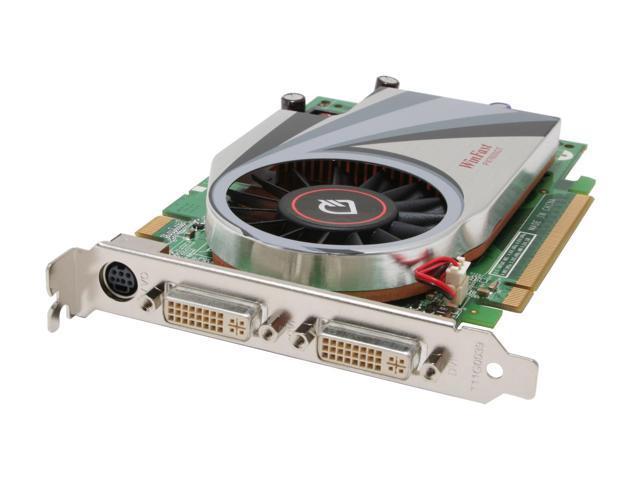 Leadtek PX7600 GT GeForce 7600GT 256MB 128-bit GDDR3 PCI Express x16 SLI Supported Video Card