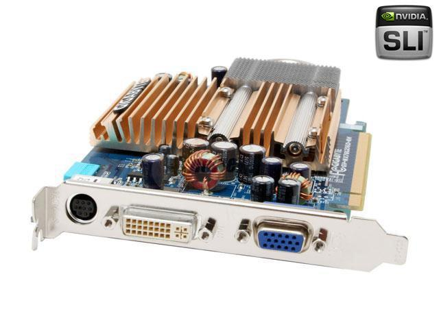 GIGABYTE GeForce 7600GS DirectX 9 GV-NX76G256D-RH Video Card