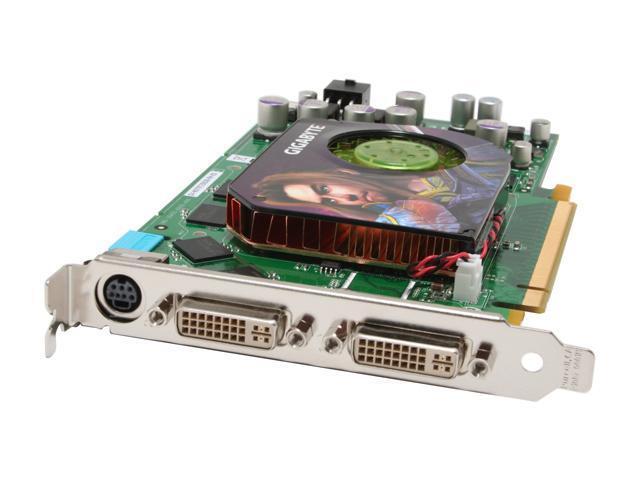 GIGABYTE GeForce 7900GT DirectX 9 GV-NX79T256DB-RH-ED 256MB 256-Bit GDDR3 PCI Express x16 SLI Support Video Card