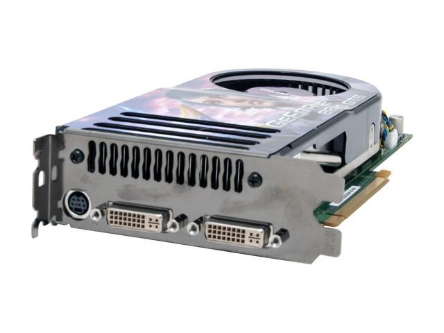 GIGABYTE GeForce 8800 GTS DirectX 10 GV-NX88S320H-B-RH Video Card