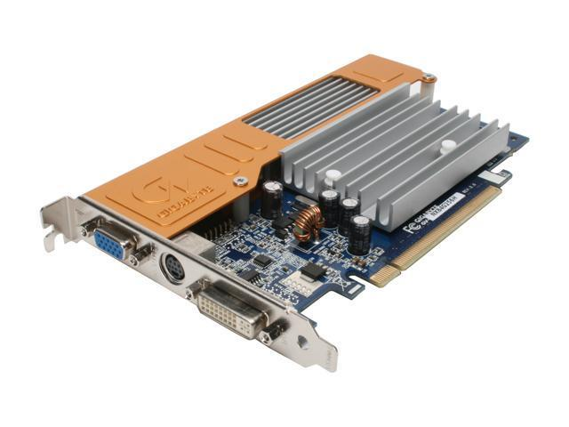 GIGABYTE GeForce 8400 GS DirectX 10 GV-NX84G256H 256MB 64-Bit GDDR2 PCI Express x16 HDCP Ready Video Card