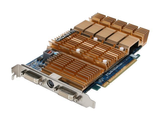 GIGABYTE Radeon HD 2600PRO DirectX 10 GV-RX26P512H Video Card
